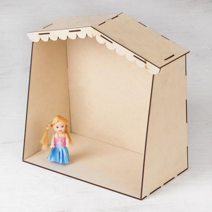 Дом для куол, фанера: 4 мм