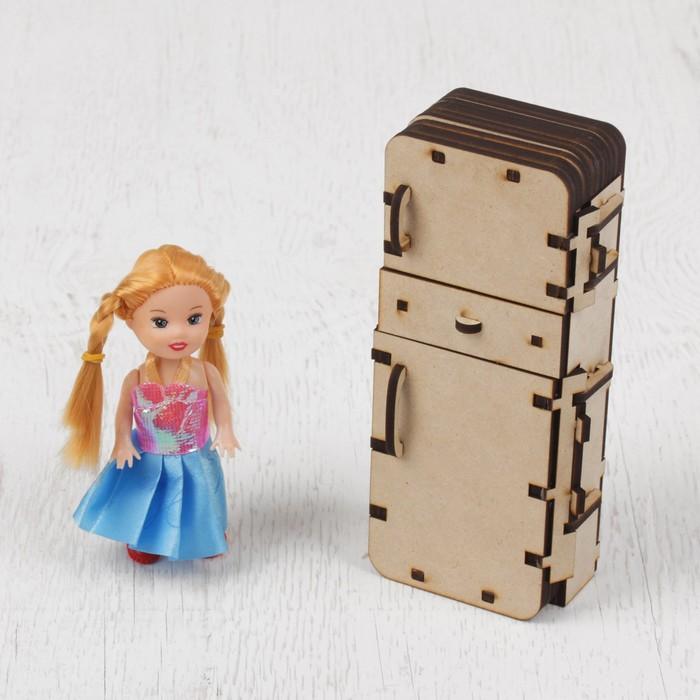 """Кукольная мебель """"Холодильник"""""""