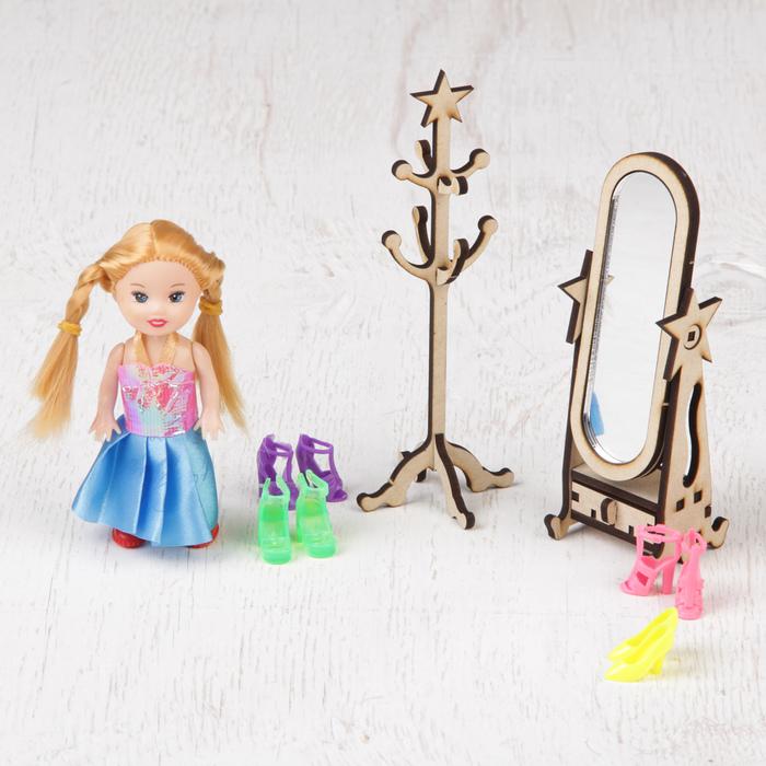 """Кукольная мебель """"Гардеробная"""""""