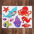 """Developing a set of magnets """"Sea inhabitants"""""""