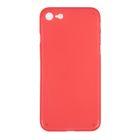 Чехол Luazon для iPhone 7, материал PP, красный