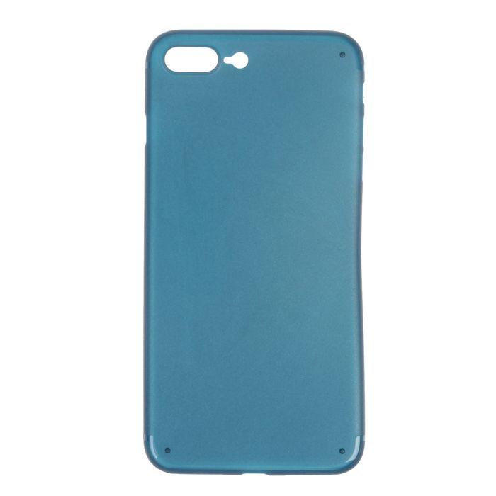 Чехол для iPhone 7 Plus, материал PP, синий