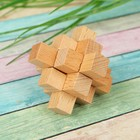Wooden mini puzzle No. 12