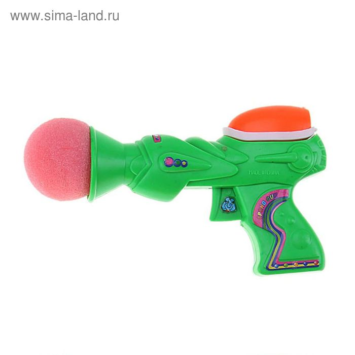"""Стрелялка """"Пистолет"""", цвет МИКС"""