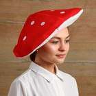 Карнавальная шляпа «Мухомор», р-р. 56-58 - фото 1746365