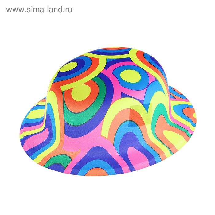 "Карнавальная шляпа ""Цветные круги"" набор (6шт)"