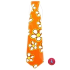 "Carnival tie ""Summer"", big flowers, set of 6 PCs"