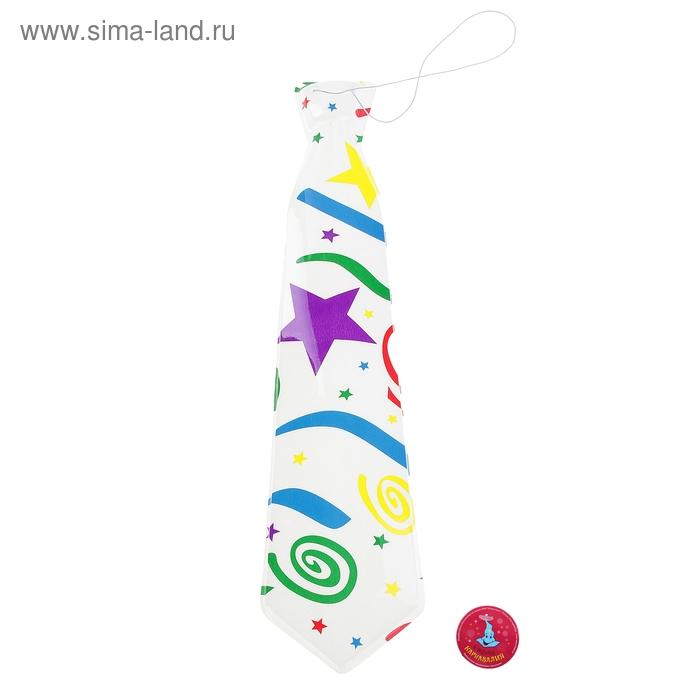 """Карнавальный галстук """"Серпантин"""", набор 6 шт."""