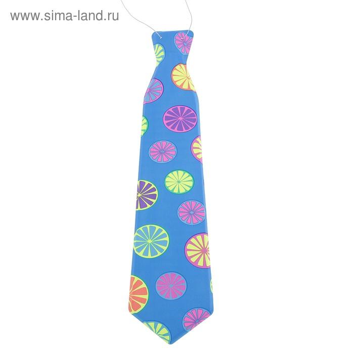 """Карнавальный галстук """"Лимончик"""", матовый, набор 6 шт."""