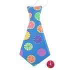 Карнавальный галстук «Лимончик», матовый, набор 6 шт.