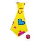 Карнавальный галстук «Сердечки», набор 6 шт.