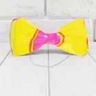 Карнавальная бабочка «Два цвета»