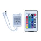 Luazon RGB controller for modules/strips, 12V, 72W, IR remote control 24 buttons
