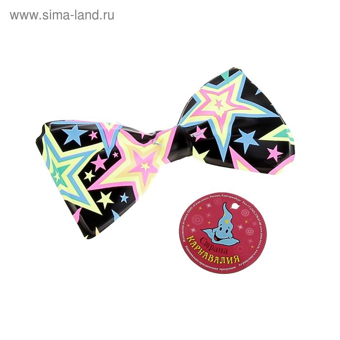 """Карнавальная бабочка """"Звезда """", набор 6 шт."""