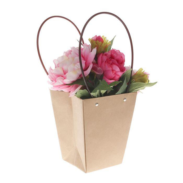 Переноска для цветов, 20 х 17 х 12 см
