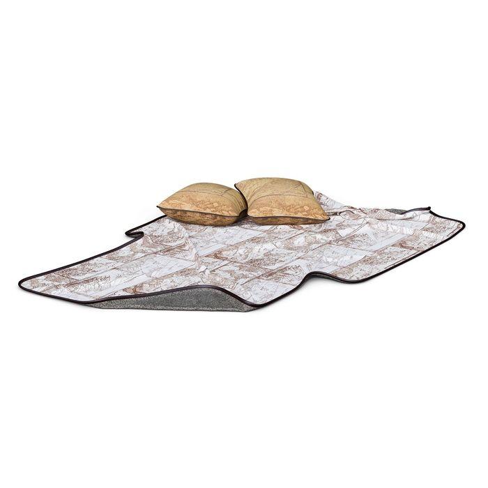"""Комплект мягких элементов """"Корсар"""" (покрывало, подушки, 2 шт)"""