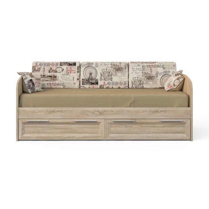 """Кровать """"Шервуд"""" с ящиками, 2000х900"""