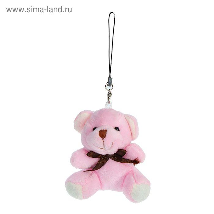 """Мягкая игрушка - брелок """"Мишка"""" цвета МИКС"""