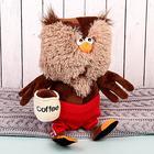 "Мягкая игрушка ""Сова & Coffee"", 25 см"