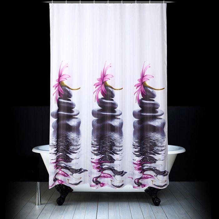 Штора для ванной «Дзен», 180 х 200 см
