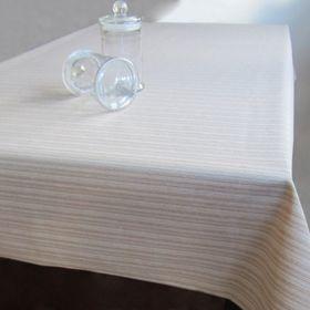 Клеёнка столовая Jacquard «Отос», 140 см, рулон 20 пог. м., цвет бежевый