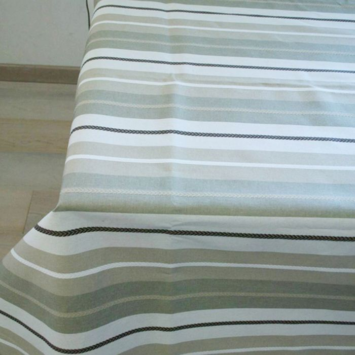 Клеенка столовая Tinto, 140 см, рулон 20 п.м., Tweed/1 бежевый