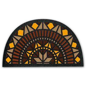 Коврик придверный Format Mezzaluna «Розетта», 40 х 68 см