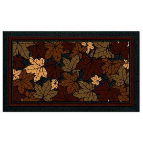 Коврик придверный Format Classic «Листья», 40 х 68 см