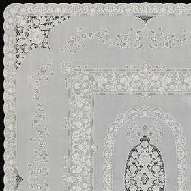 Скатерть столовая «Ажурная» Mary Rose, 132 х 177см, 10 шт в рулоне