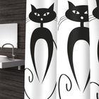 Штора для ванной Cats, 180х200 см