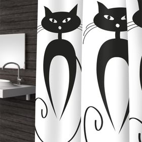 Штора для ванной Cats, 180 х 200 см