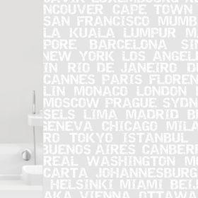 Штора для ванной City, 180 х 200 см
