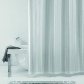 Штора для ванной Rigone, 180 х 200 см, цвет серый