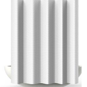 Штора для ванной Verga, 180 х 200 см, цвет белый