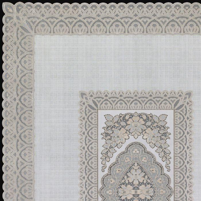 Скатерть столовая «Ажурная» Imperial, 140 х 200 см, 10 шт в рулоне, цвет бежевый