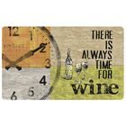 Коврик на кухню There is Always Time for Wine 45x75 см
