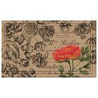 Коврик влаговпитывающий Vintage Floral Peony 45х76 см