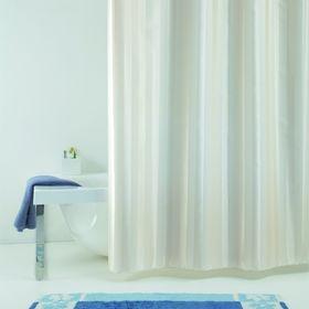 Штора для ванной Rigone, 240 х 200 см, цвет бежевый