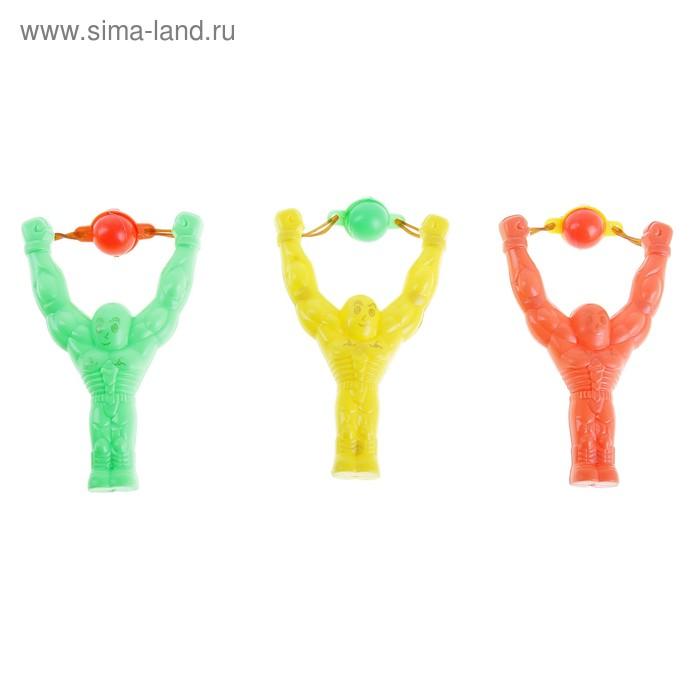 """Стрелялка - рогатка """"Спортсмен"""", цвета МИКС"""