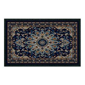 Коврик придверный Format Classic «Персия», 50 х 80 см, синий
