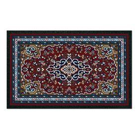 Коврик придверный Format Classic «Персия», 50 х 80 см, бордовый