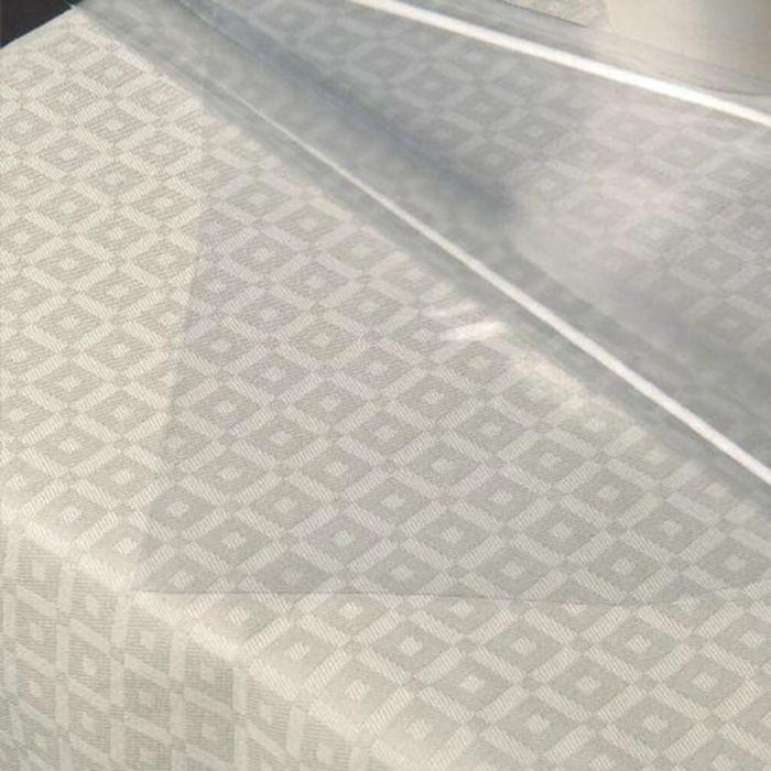 Клеёнка столовая Clear Foil 140 см, рулон 60 пог. м., прозрачная