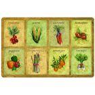 Коврик на кухню Veggie Panels 56x86 см