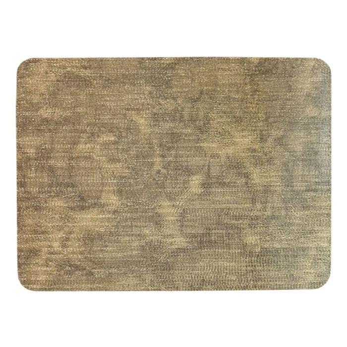 Салфетка на стол «Велюр», золото, 30 х 40 см