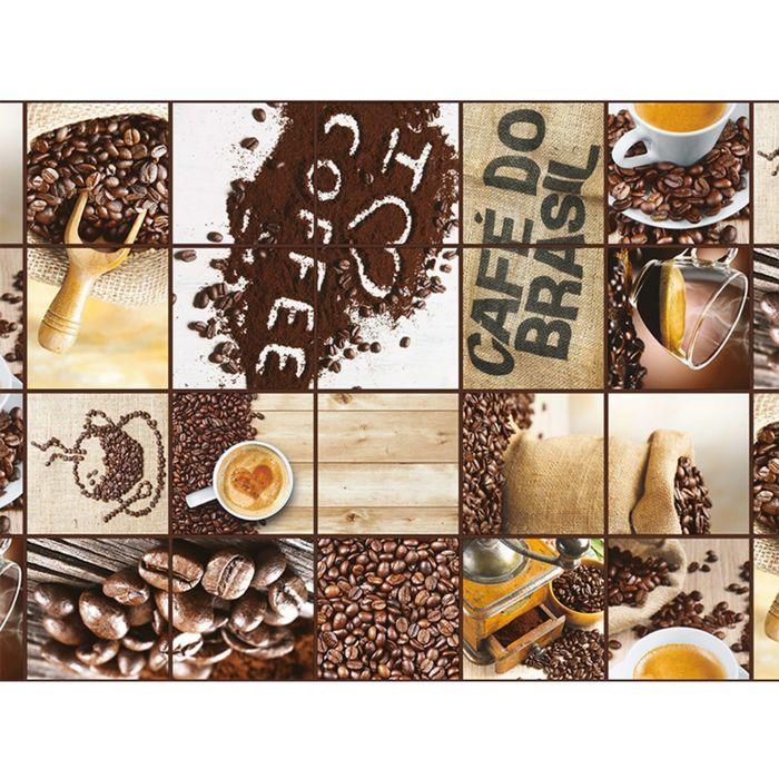 Клеёнка столовая Photoprint «Кофе», 140 см, рулон 20 пог. м