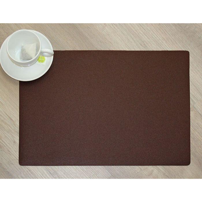 """Салфетка """"Lino"""" 30х43 см, Шоколад"""
