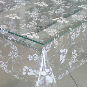 Клеёнка столовая Transparent Star, 140 см, рулон 30 пог. м