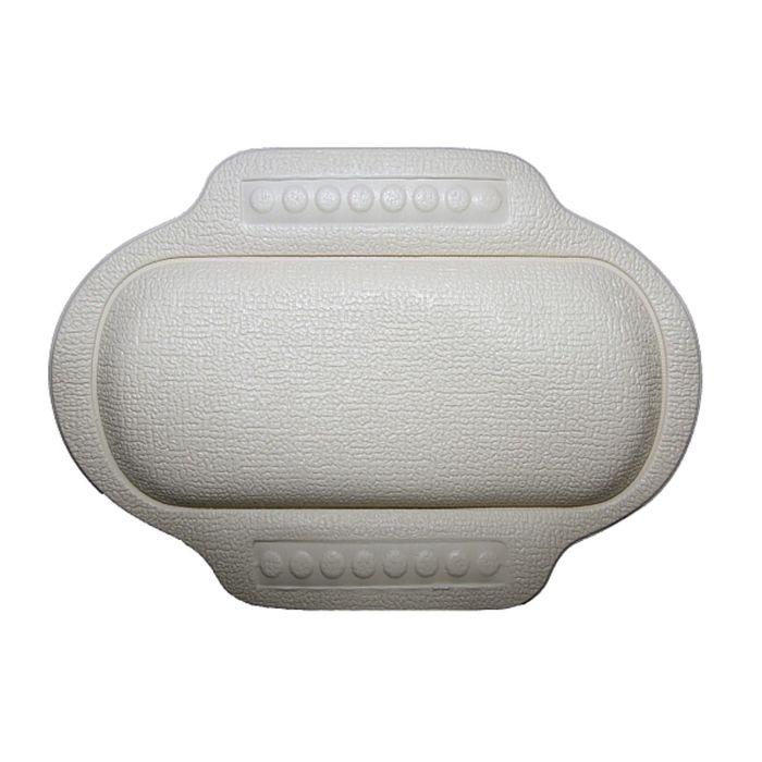 Подголовник в ванну, 25 х 34 см, белый