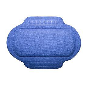 Подголовник в ванну, 25 х 34 см, синий Ош