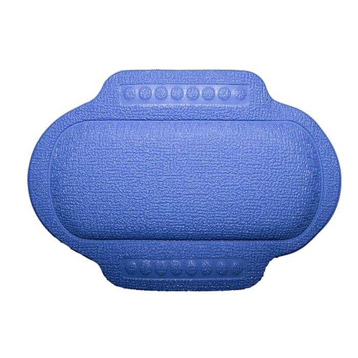 Подголовник в ванну, 25 х 34 см, синий